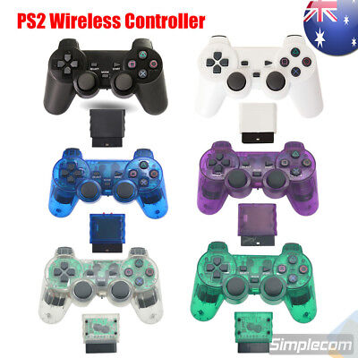 2.4G Wireless Gamepad Game Controller Dual Vibration For PS2 PlayStation 2