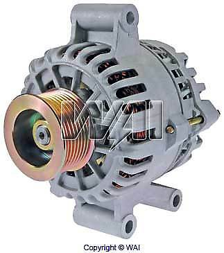 New Alternator(7796)99-01 Ford F-450 Super Duty 7.3L-V8/110 Amp/8-Groove Pulley