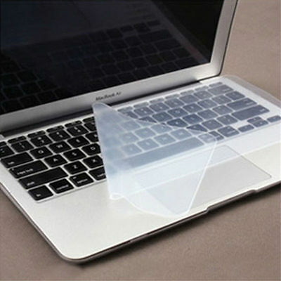 """Clear Silicone Keyboard Cover Skin Protector For 15"""" Computer Laptop Notebook PC"""