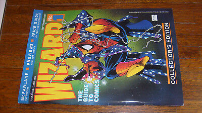 WIZARD: THE GUIDE TO COMICS #1 (1991)  McFarlane cover, VERYFINE/NEARMINT