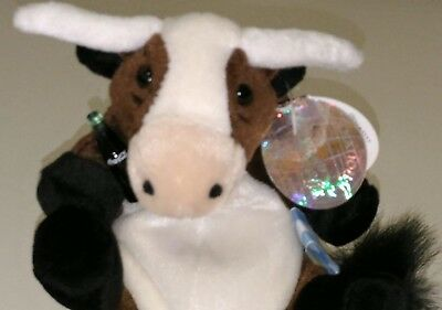 Coca-Cola Collectable Bean Bag Plush Vaca Argentina Long Horn Cow -New With Tag