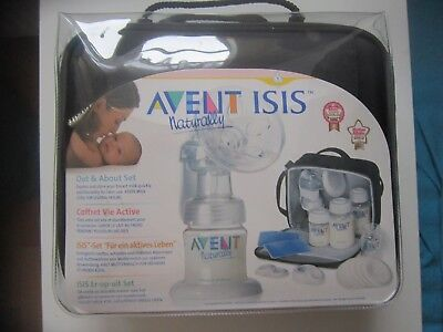 Philips Avent ISIS Naturally Handmilchpumpen SET   - NEU in OVP
