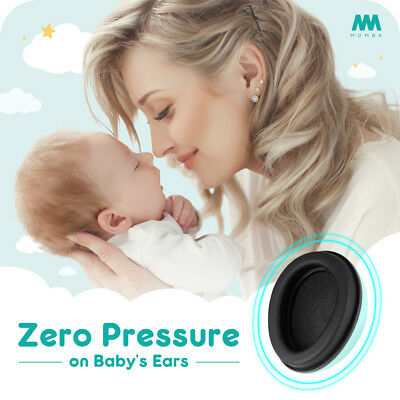 Mumba Baby Kids Earmuffs Ear Muffs Hearing Protection Noise Cancelling Headphone
