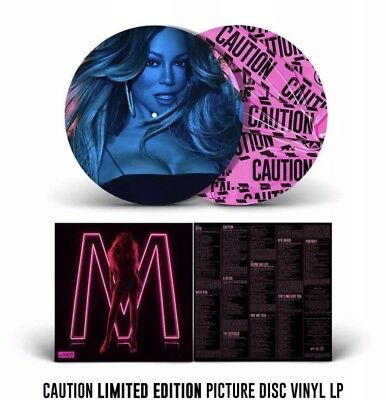 Mariah Carey Official Caution Picture Disc Limited Numbered Vinyl Rare Pre-Order