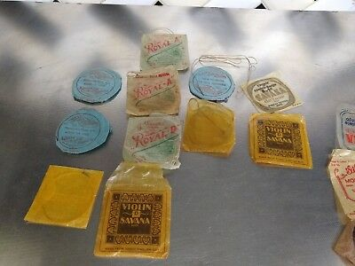 Vintage Antique Lot Violin Mandolin Banjo Strings As Seen