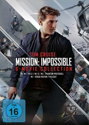 Mission Impossible 1-6 The 6 Movie Collection 1 2 3 4 5 6 Tom Cruise Dvd Deutsch