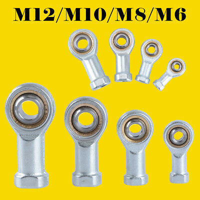 Steel M6/8/10/12 T/K Male/Female Right Hand Threaded Rod End Ball Joint Bearing