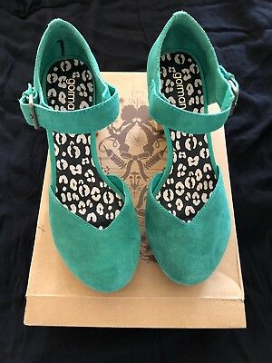 Never Worn Stunning Gorman Ladies Suede Leather Shoes Size 40