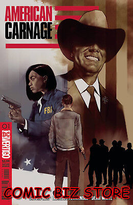 American Carnage #1 (2018) 1St Printing Be Oliver Main Cover Dc Universe