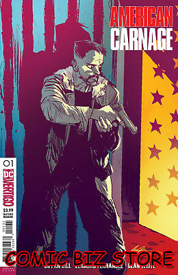 American Carnage #1 (2018) 1St Printing Albuquerque Variant Cover Dc Universe