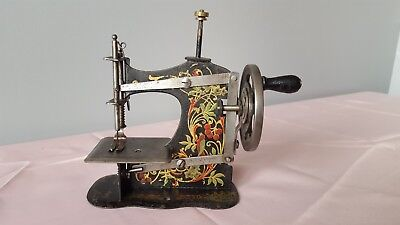 Antique Childs Toy Sewing Machine S/N 854458 German Made Poss. Muller