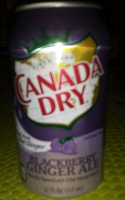 Canada Dry Ginger Ale Blackberry 1dose Leer Empty Ohne