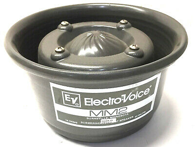 Electro Voice Submerge Proof MM2 Commercial Sound Paging Speaker F01U149022 NOS