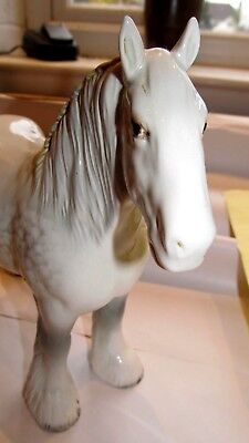 Magnificent Beswick Grey Shire Horse