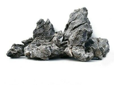 Grey Mountain Rock Aquarium Iwagumi Style Set Of Stones Aquascaping Natural