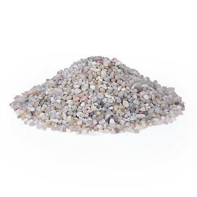 PREMIUM LIGHT SILICA GRAVEL SAND AQUARIUM SUBSTRATE 3-5mm 100% NATURAL