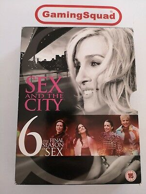 Sex and the City Season 6 BOXSET DVD, Supplied by Gaming Squad Ltd