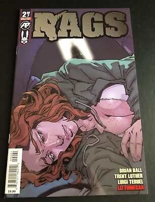 RAGS #2 SILVER FOIL VARIANT NM SOLD OUT Antarctic Press 1st Print Limited to 200