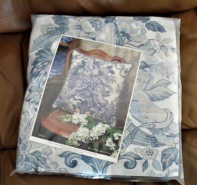 Toile De Jouy (Blue) Anchor Tapestry