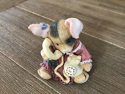 """VTG Adorable This Little Piggy """"Sow Are Things With You?"""" 1994 Enesco Figurine"""