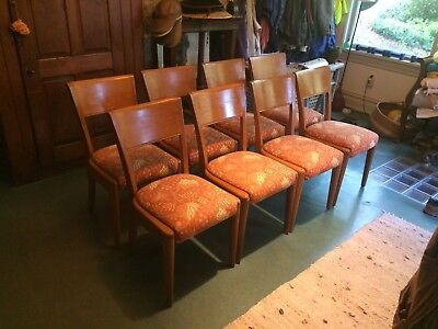 Heywood-Wakefield Dining Room Chairs - Set of 8