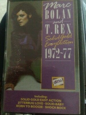 Marc Bolan Solid Gold Easy Action Cassette