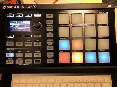 Native Instruments Maschine Mikro MK2 Black mit kompl. Software+LernDVD Maschine