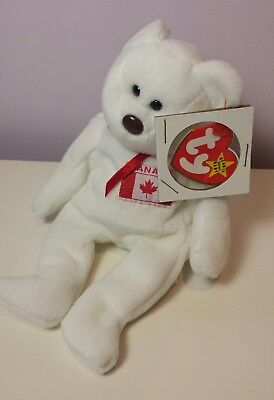 692fecdbe5f NWT CANADIAN TAGS MAPLE the Bear Ty Beanie Baby