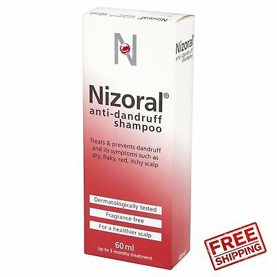 Nizoral Anti Dandruff Shampoo, 60 ml **FREE DELIVERY**