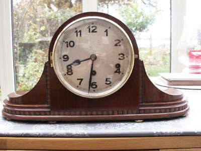 Stunning Mahogany Westminster Chime Clock
