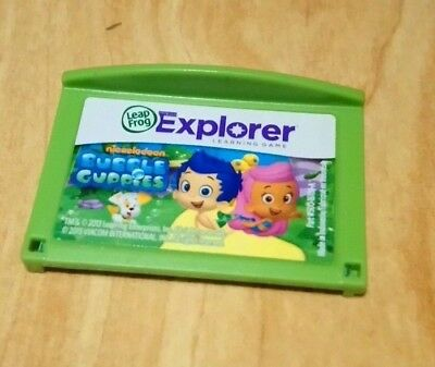 BUBBLE GUPPIES GAME for Leapfrog Leappad 2 3 & Ultra & Platinum & Ultimate