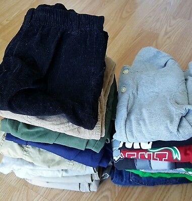 Lot of 18 pieces of Toddler Boys clothes mized, size 5T/5
