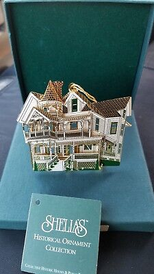 Shelia's Historical Ornament Collection (Weller House)