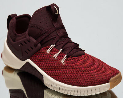 Nike Free x Metcon Men s Training Shoes Dune Red Burgundy Sneakers  AH8141-626 290a3a86a