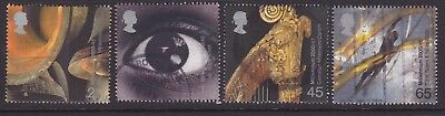 GB used stamp set 2000 Sound and Vision