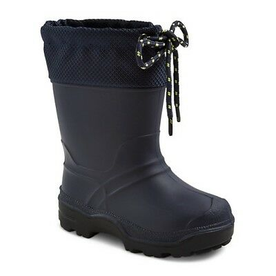 NEW! Toddler SnowMaster Waterproof Winter Snow Boots, Navy/Blue - 8, 10, 11, 12