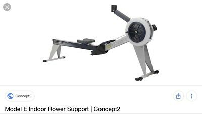 Concept2 Model E Indoor Rower with PM4 Monitor - Grey