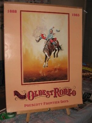 Worlds Oldest Rodeo Poster by Carlos Hadaway