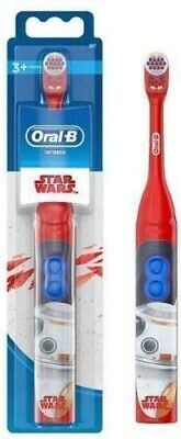 Oral-B Star Wars Kids Electric Battery Toothbrush Ages 3+