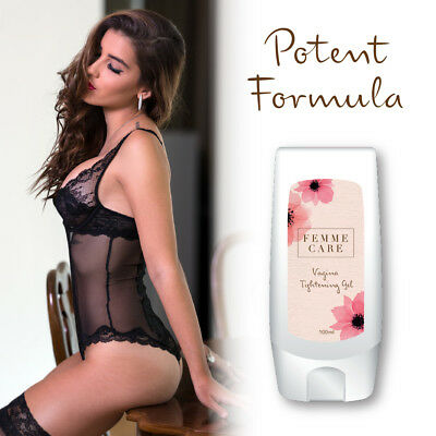 Femme Care Vagina Tightening Gel – Tightens Vagina Porn Style Sex Orgasms