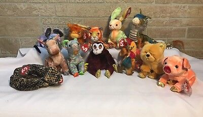 TY BEANIE BABIES - THE CHINESE ZODIAC - (Complete set of 12) RETIRED ... 475d1cc58c2b