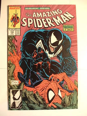 Amazing Spider-man #316 - Marvel 1989 - Venom Returns!  And Gets a Cover Shot!