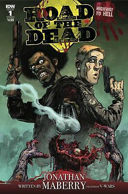 ROAD OF THE DEAD HIGHWAY TO HELL #1  Maberry  Cover A NM- or better