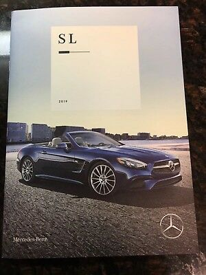 2019 MERCEDES-BENZ SL 30-page Original Sales Brochure