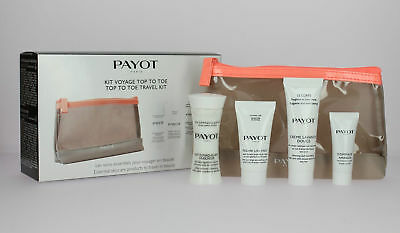 Payot Top To Toe Travel Kit Set Techni Liss Le Corps Cleanser Exfoliating Cream