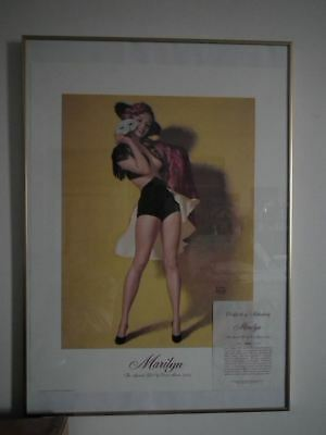 Marilyn Monroe Litho Earl Moran Playboy Limited Edition Numbered 1884/7500