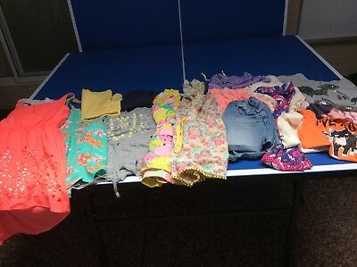 Girls Size 12 Bulk Summer Clothes- 17 Items