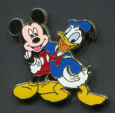 Disney Pin Mickey & Donald from Friends Are Forever Starter Lanyard Trading Set