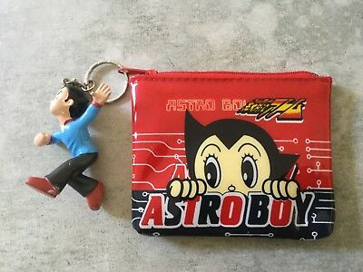 Astro Boy collector's wallet with collector's keyring, mint condition