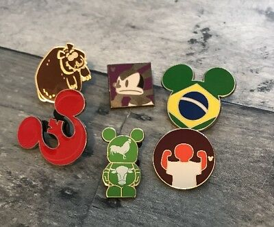 Disney Pin Trading Lot of Assorted Pins